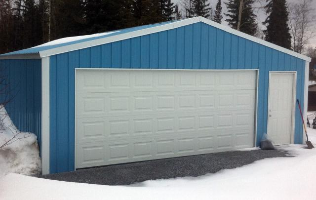 Versatube Garage Colors : Garages