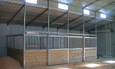 Horse barns for 2 stall horse barn kits